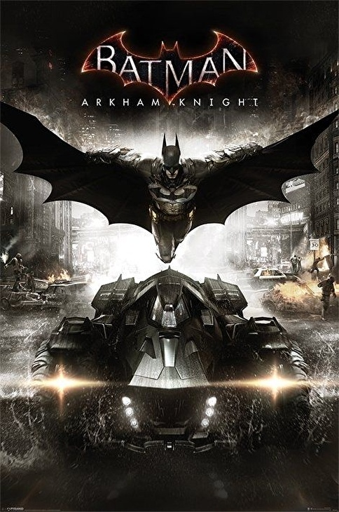 Pyramid International Maxi Poster Batman Arkham Knight Renkli